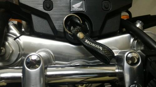 碳纖維紋路鑰匙圈 HONDA