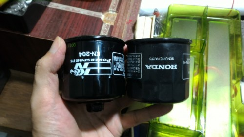 KN-204 機油濾芯 K&N