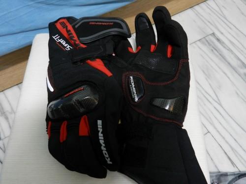 GK-780 Super fit 碳纖維冬季手套 -Dio KOMINE