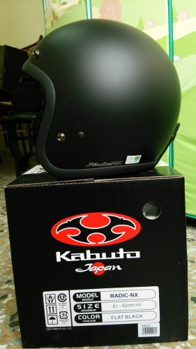 RADIC・N X [Ludwig]安全帽 OGK KABUTO