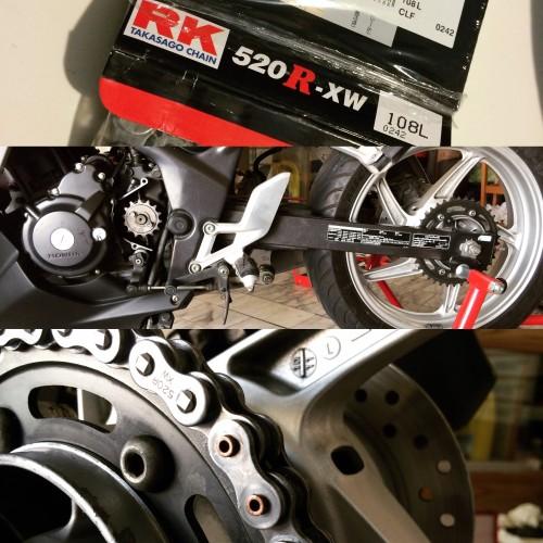 標準型系列鏈條 520R-XW RK