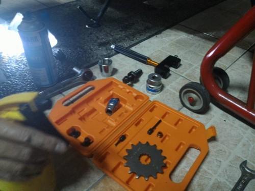 專業型鍊條拆裝工具 Webike Garage