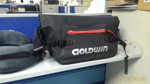 防潑水 防水腰包 GOLDWIN