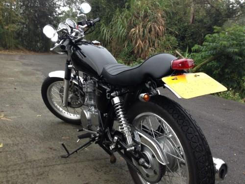 SR400 : Motor ROCK 後擋泥板