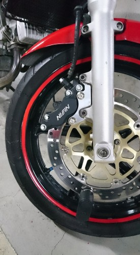 New卡鉗座 VTR250 N PROJECT