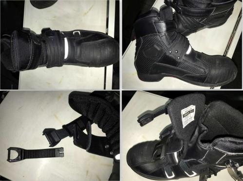 BK-083 防潑水Active騎士靴 (無腳趾滑塊) KOMINE