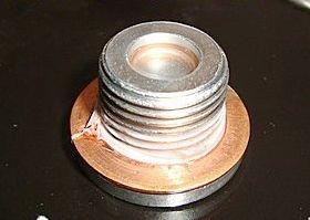 洩油螺絲墊片 M12 MINIMOTO