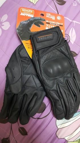 山羊皮打孔網格手套 保護型式 DAYTONA