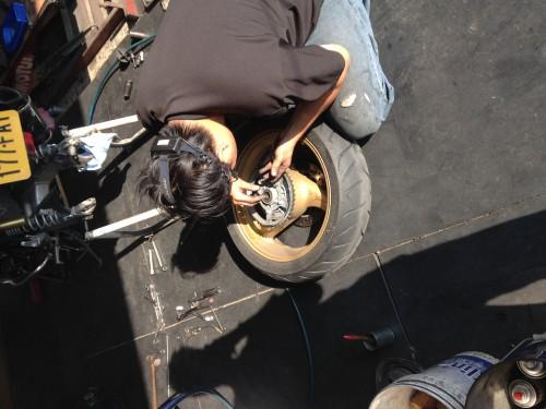 高硬度鋁合金後齒盤 SUNSTAR