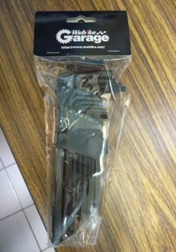 13件式內六角扳手組-MM Webike Garage
