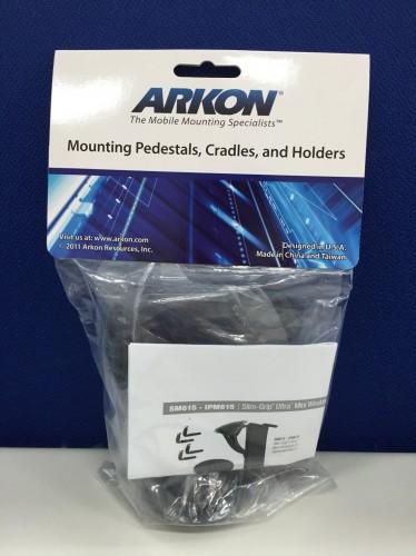 可調整通用型iPhone/智慧型手機/導航機車架吸盤組(ARKON SM615) ARKON