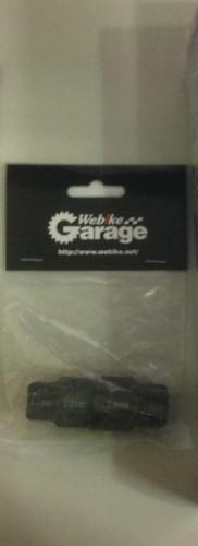前輪軸工具(黑色)17、19、22、24MM Webike Garage