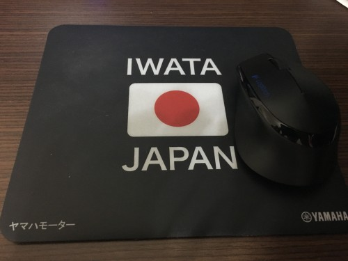 IWATA滑鼠墊 YAMAHA