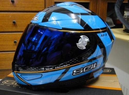 SF-5全罩式安全帽(阿爾法) SOL