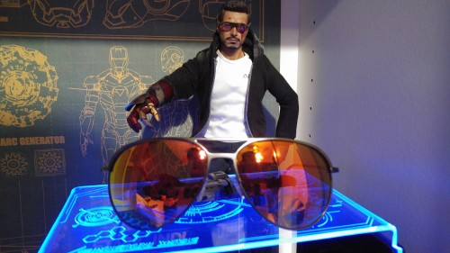 FILO DESIGN Aviator 太陽眼鏡 橘色鏡片/黑色鏡框 FILO DESIGN