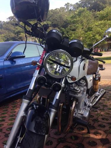 POSH 螺絲固定的方向燈套件 Super bike迷你型( 車種専用套件)