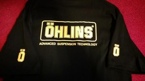OHLINS T恤 OHLINS
