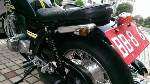 螺絲固定的方向燈套件 Super bike迷你型( 車種専用套件) POSH