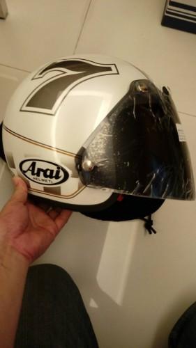 CLASSIC MOD CAFE RACER 四分之三安全帽 Arai