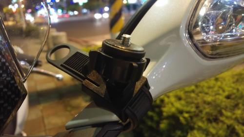 把手固定專用相機/行車紀錄器易拆便攜式雲台組 ARKON