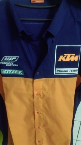 REPLICA TEAM SHIRT (複刻版 廠隊 越野車衣) KTM