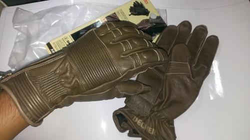 復古型皮革手套 DEGNER