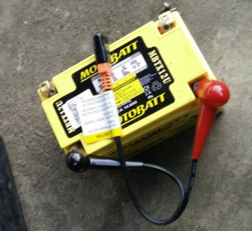 AGM 閥控式強效電池-MBTX12U MOTOBATT