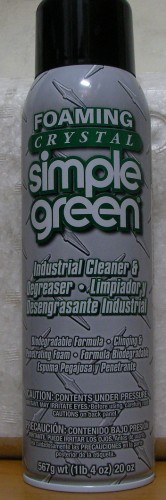 Foaming Crystal 多功能泡沫式除油清潔劑20oz單瓶 SIMPLE GREEN