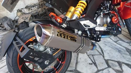 TT-Formula RS全鈦合金全段排氣管,美觀與效能的極致快感。