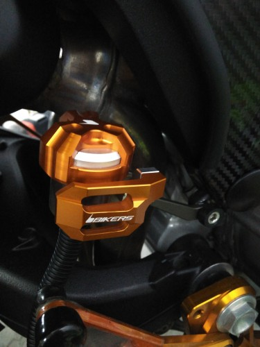 Rear Brake Fluid Tank Protector 後煞車主缸護蓋