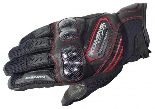 GK-187碳纖維防護網格手套(OUTLET出清商品) KOMINE
