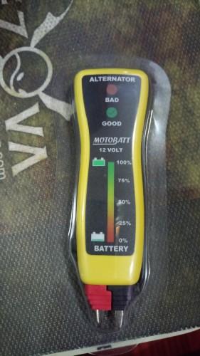 便攜型電池測試器-MB-VM MOTOBATT