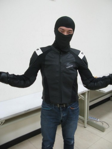 RSJ 826 防摔皮夾克 RS TAICHI