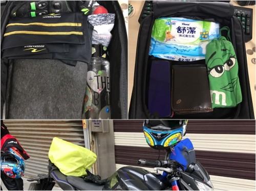 騎車無拘無束,下雨天又防水的cp值高高GOLDWIN座墊包
