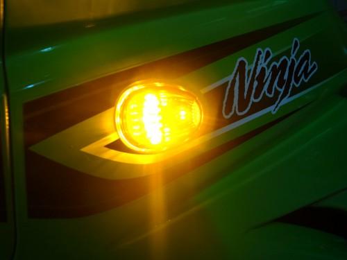 流線美型LED方向燈