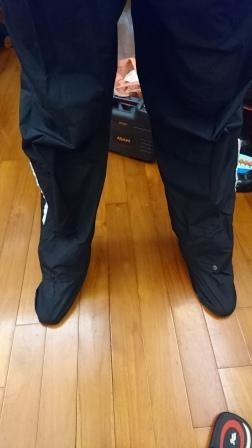 可收納延伸鞋套雨褲