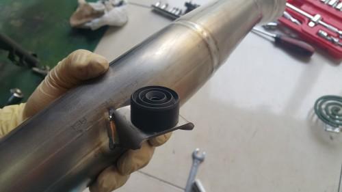 GTR1400 排氣管中柱橡膠墊