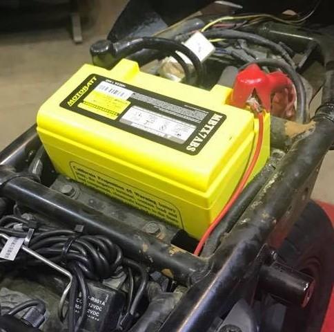 GEL 膠體密封長效型機車啟動電池-MTX7A MOTOBATT