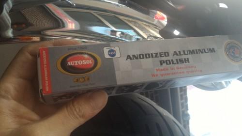 鋁合金電鍍拋光膏 75ml AUTOSOL