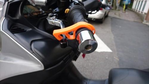 煞車固定器-橘色