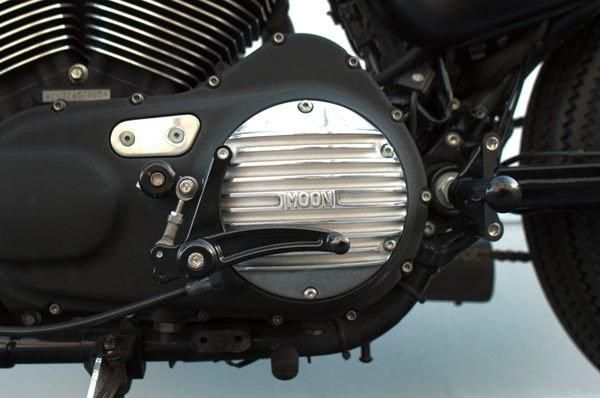 【MOON EYES】Sportster 鋁合金鑄造離合外蓋 - 「Webike-摩托百貨」
