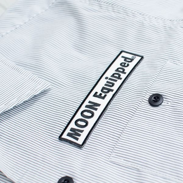 【MOON EYES】布章工作短袖襯衫 - 「Webike-摩托百貨」
