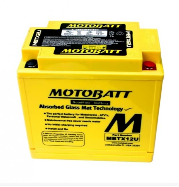 【MOTOBATT】閥控式強效級機車啟動電池-MBTX12U - 「Webike-摩托百貨」