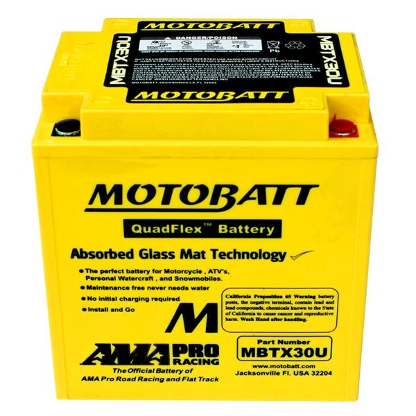 【MOTOBATT】閥控式強效級機車啟動電池-MBTX30U - 「Webike-摩托百貨」