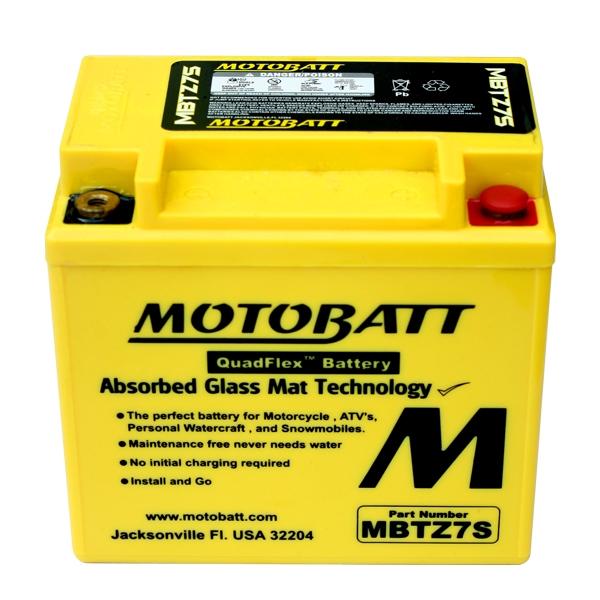 【MOTOBATT】閥控式強效級機車啟動電池-MBTZ7S - 「Webike-摩托百貨」