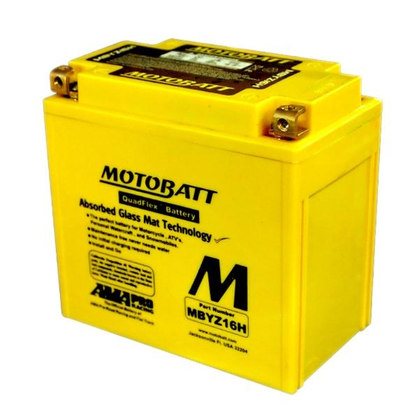 【MOTOBATT】閥控式強效級機車啟動電池-MBYZ16H - 「Webike-摩托百貨」