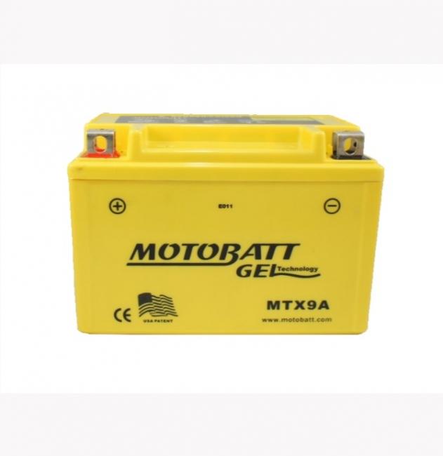 【MOTOBATT】GEL 膠體密封長效型機車啟動電池-MTX9 - 「Webike-摩托百貨」