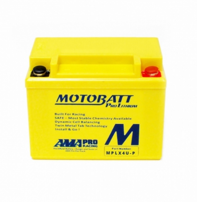 【MOTOBATT】鋰鐵強效賽事級機車啟動電池-MPLX4U - 「Webike-摩托百貨」