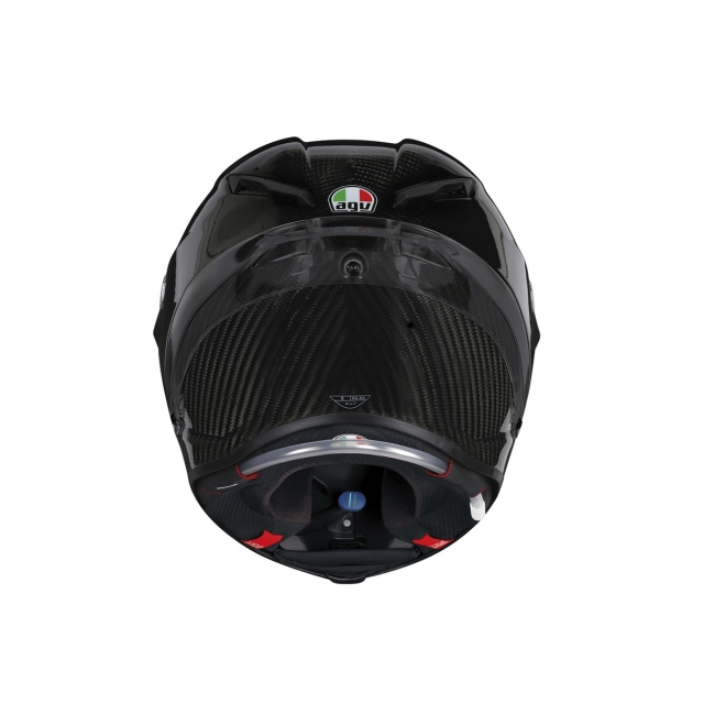 【AGV】PISTA GP R GLOSSY CARBON(亮面碳纖維黑) MONO 全罩式安全帽 - 「Webike-摩托百貨」