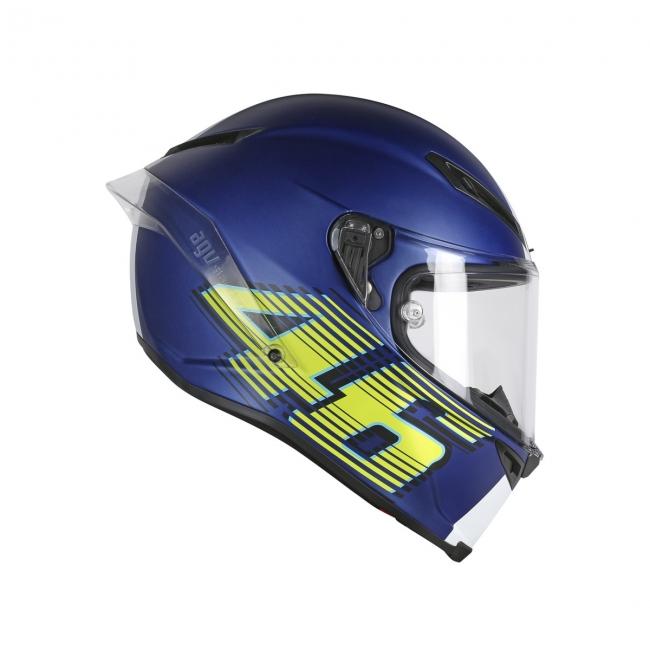 【AGV】CORSA R V46 (消光藍) TOP 全罩式安全帽 - 「Webike-摩托百貨」